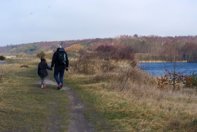 paa natureventyr ved pyritsoen paa bornholm