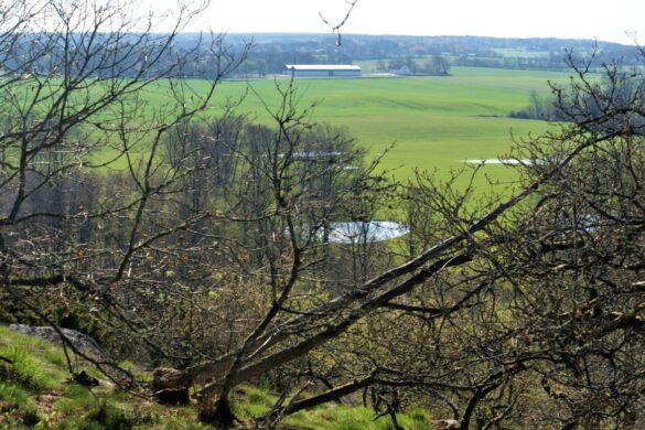 udsigt fra dronninge stenen paa bornholm